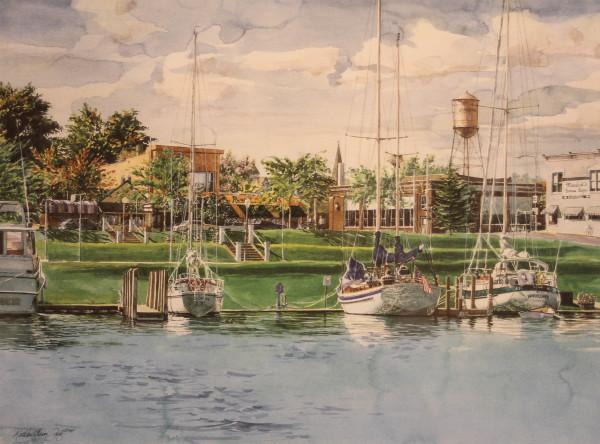 Charlevoix Bay by Kathleen Fritz