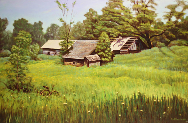 Old Homestead by Ed Hammerberg