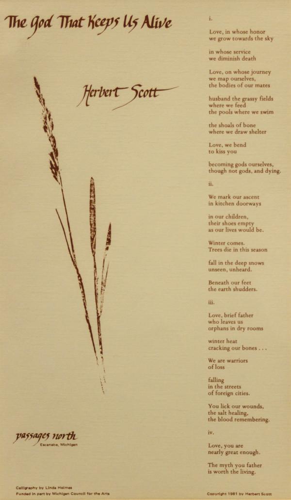 poetry by Linda  Holmes