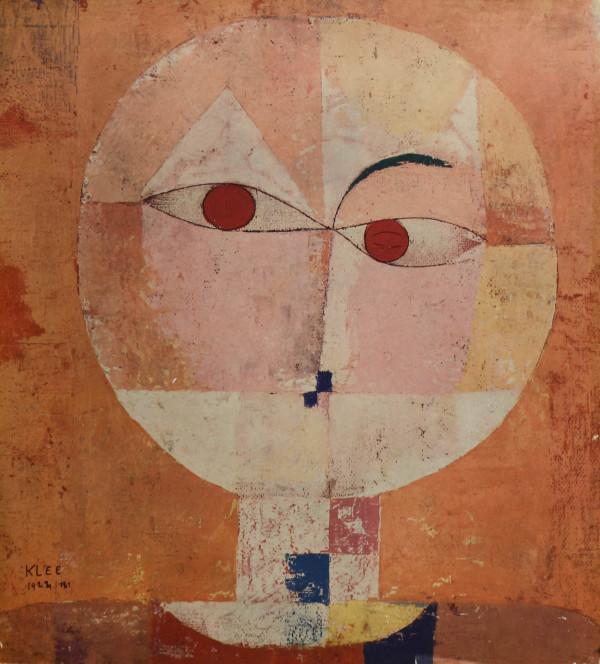 Head of Man by Paul Klee