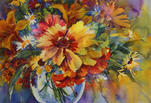 Midsummer Bouquet by Maggie Linn
