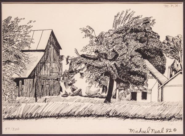 Farm scene by Michael Neal