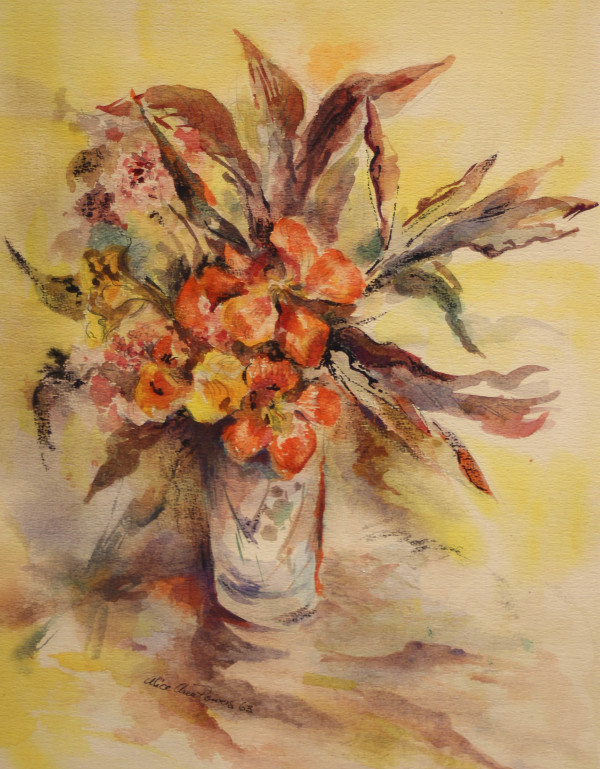 Late Summer Flowers by Alice Powers