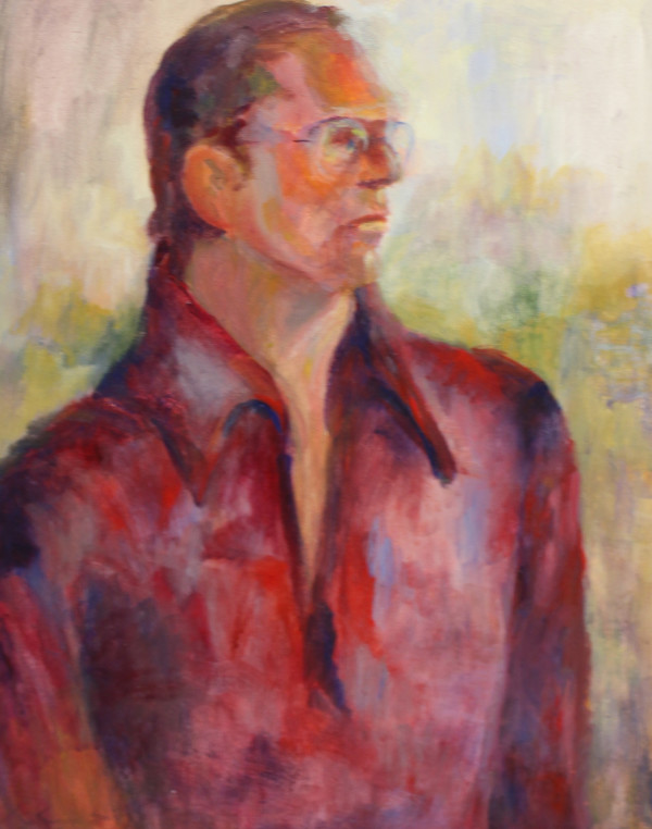 Man in Glasses by Catherine Smith