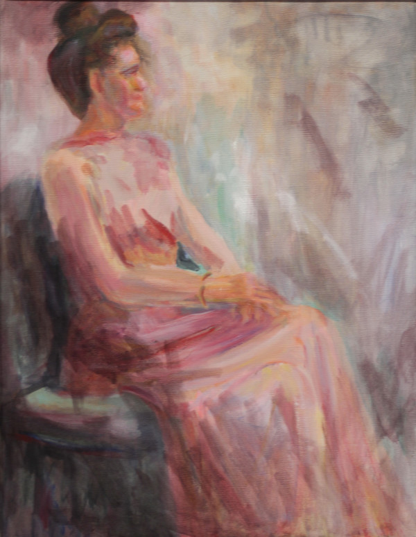 Woman in Formal Dress by Catherine Smith