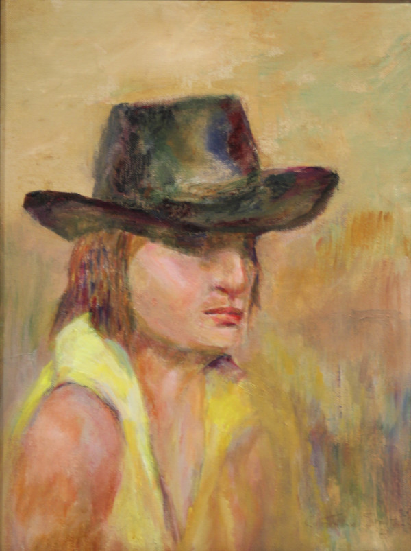 Woman in Hat by Catherine Smith