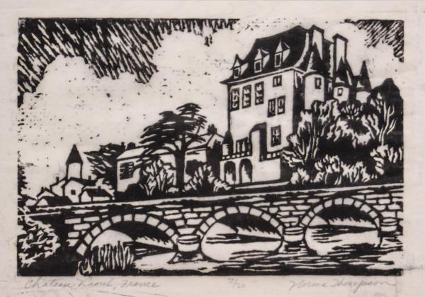 Castle & Bridge by Norma Thompson