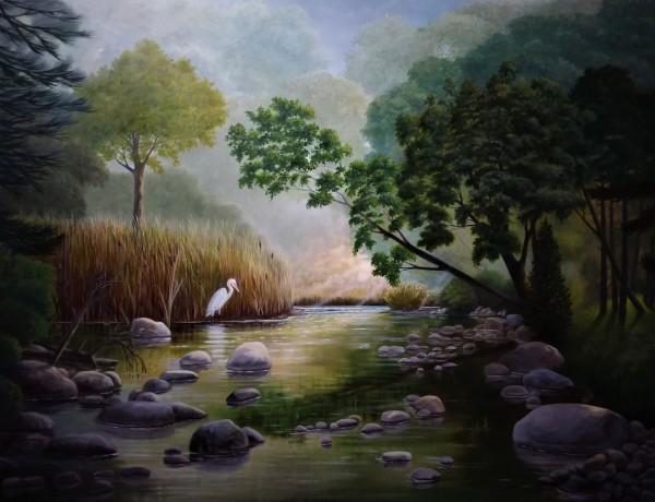 """""""A Quiet Eddy"""" by Layne van Loo"""
