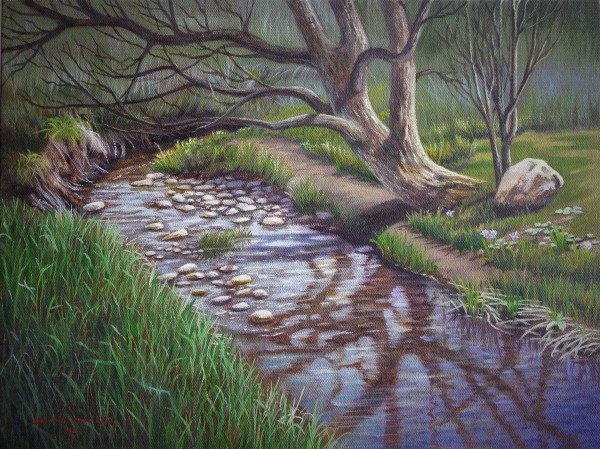 """Crocus Creek"" by Layne van Loo"