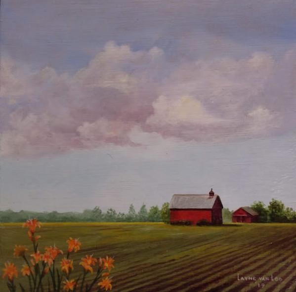 """Daylillies"" by Layne van Loo"