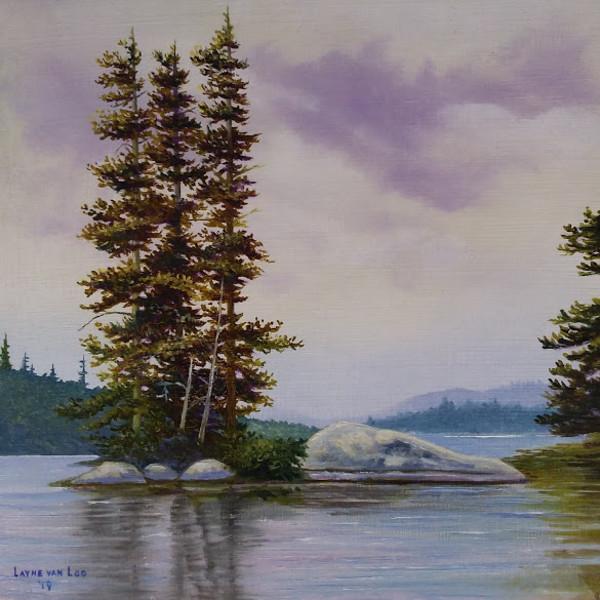 """""""Resilient Pines"""" by Layne van Loo"""