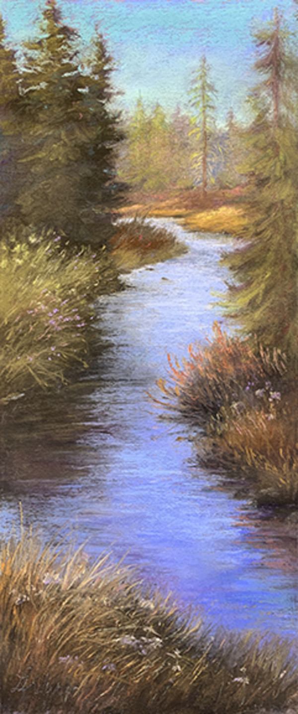 Along The Stream by Gretha Lindwood