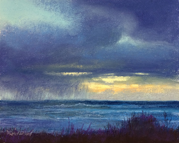 Scattered Showers II by Gretha Lindwood