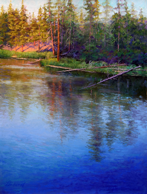 Serene Reflections IV by Gretha Lindwood