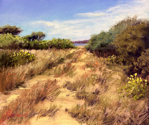 Trail At The Refuge by Gretha Lindwood