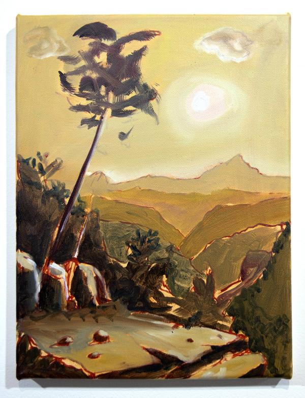 Golden Landscape by Mathew Tucker