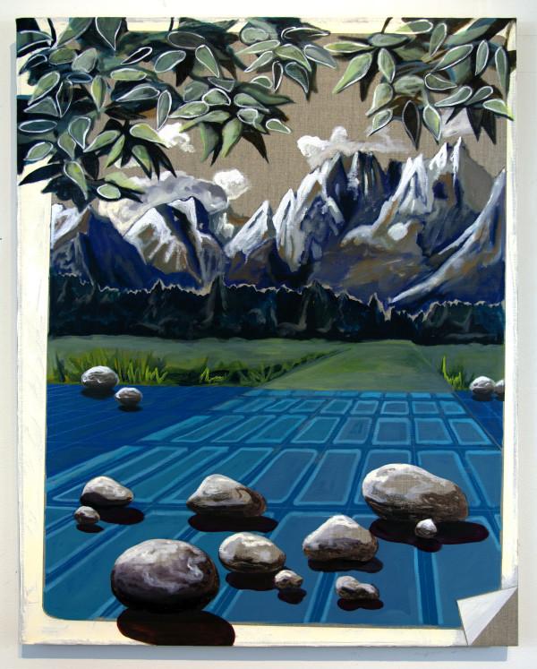 Blue Alpine Pass by Mathew Tucker