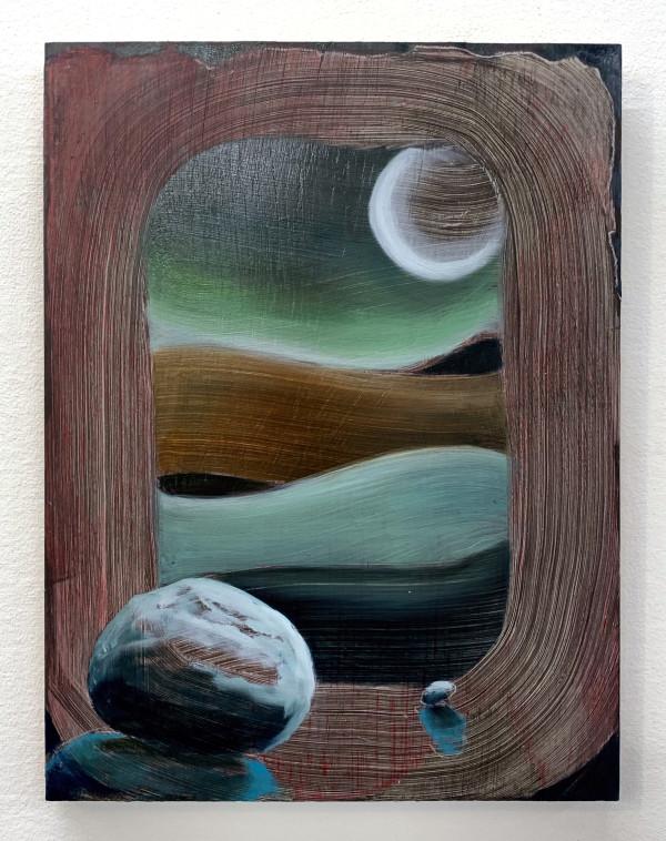 Crescent Moon by Mathew Tucker
