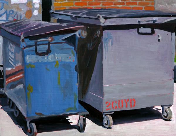 Dumpsters by Mathew Tucker