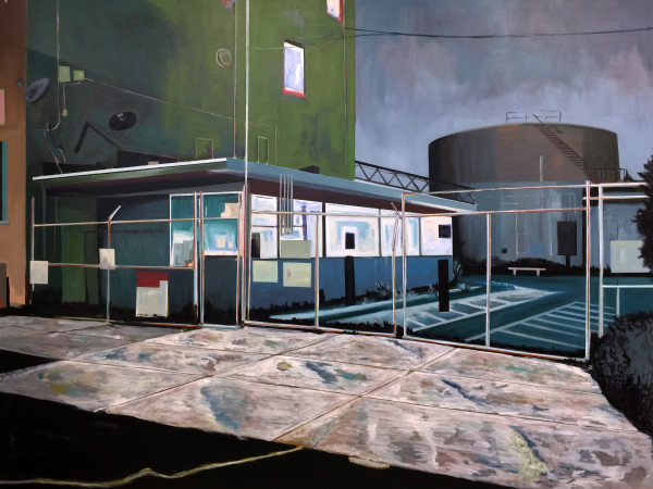Gas Facility by Mathew Tucker