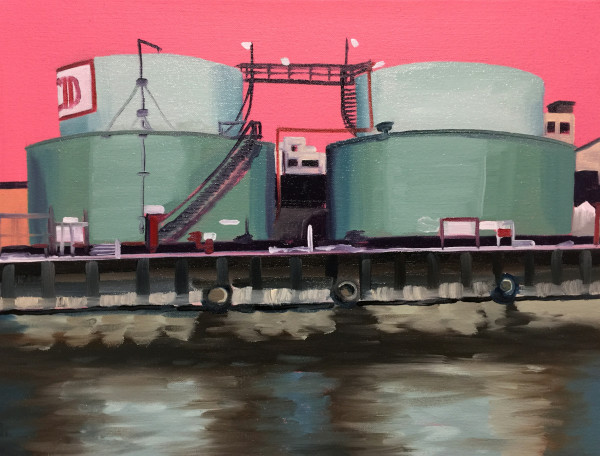 Gas Stores by Mathew Tucker