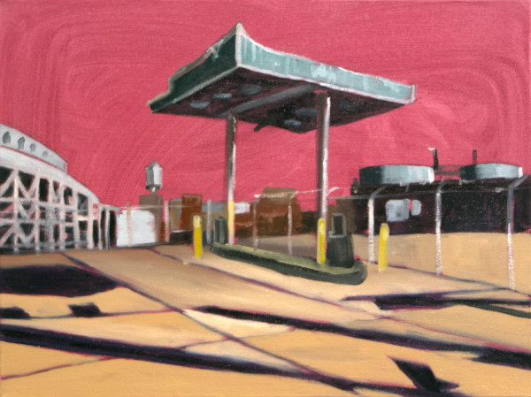 Gowanus Gas  by Mathew Tucker