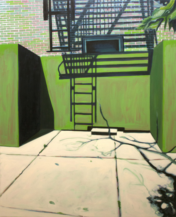 Fire Escape by Mathew Tucker