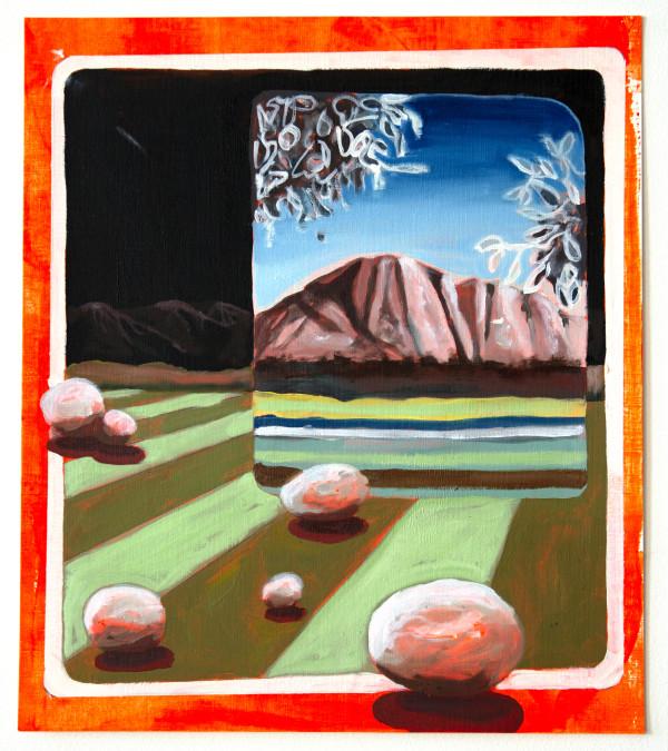 Lawn with Landscape by Mathew Tucker