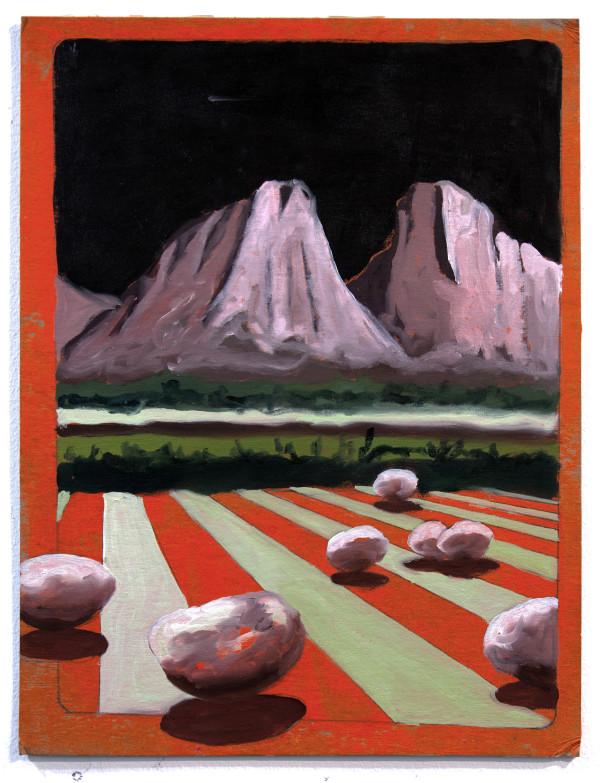 Mountain with Stripes by Mathew Tucker