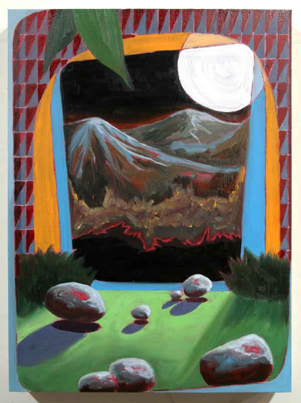 Orange Portal by Mathew Tucker