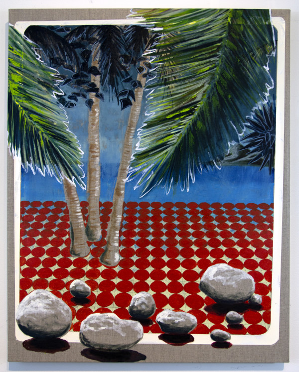 Linen Palms by Mathew Tucker