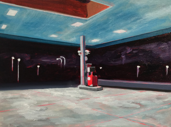 Petrol Pump by Mathew Tucker