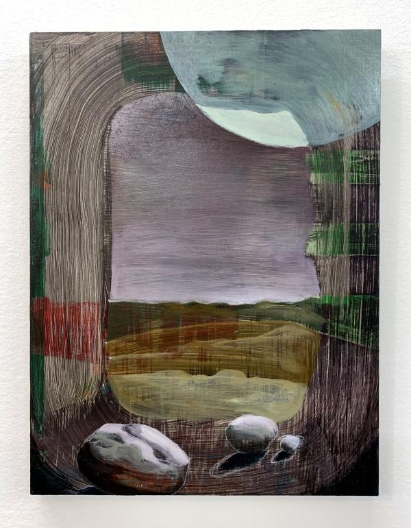 Quinacridone Sky by Mathew Tucker