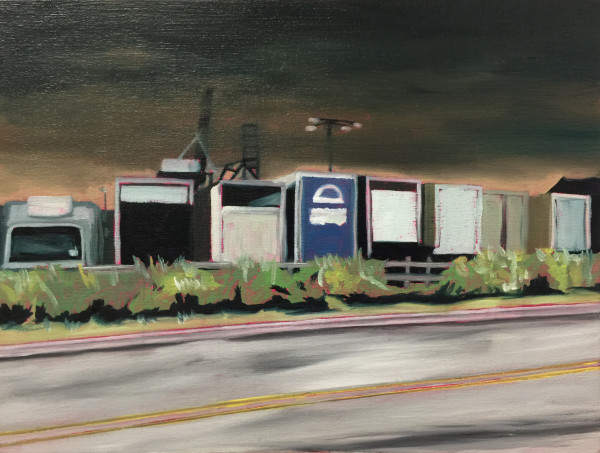 Truck Lot by Mathew Tucker