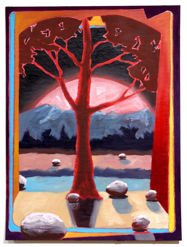 Red Tree by Mathew Tucker