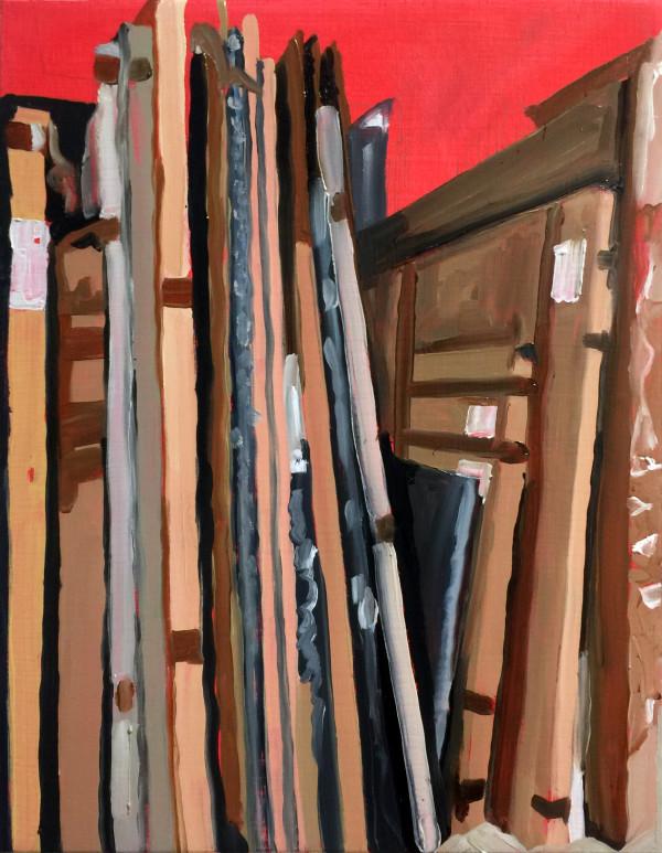 Storage Rack by Mathew Tucker