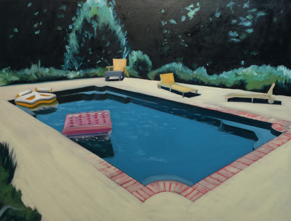 Swimming Pool 3 by Mathew Tucker