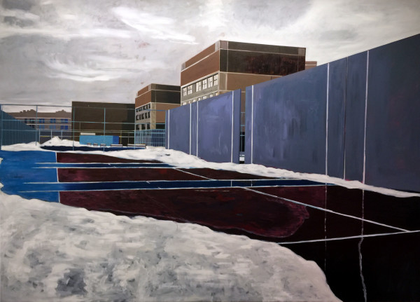 Handball Court by Mathew Tucker