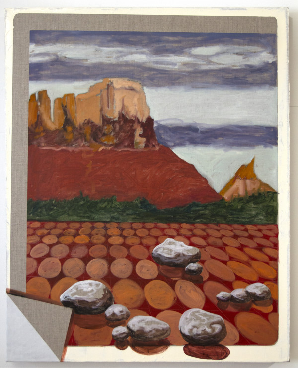 Utah Landscape with Red Tiles by Mathew Tucker