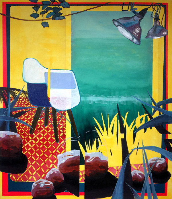 Yellow Space by Mathew Tucker