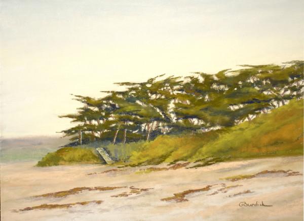 Beach at First Light by Ginny Burdick