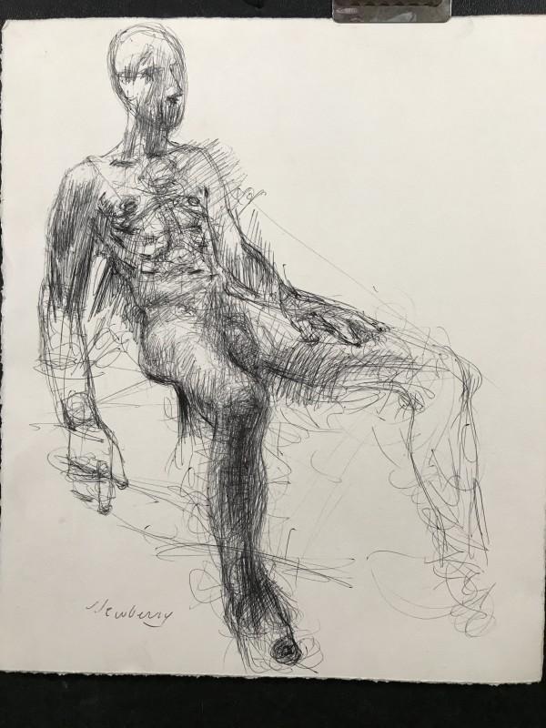Sitting Man by Michael Newberry
