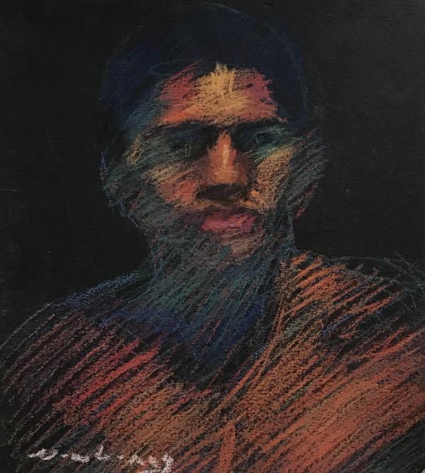 Male Portrait by Michael Newberry