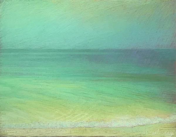 Apollo Beach Green Green Yellow by Michael Newberry