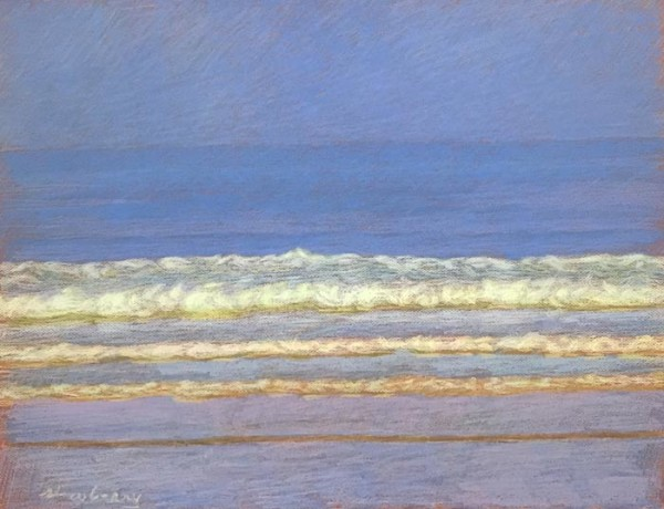 San Onofre Blue-Violet by Michael Newberry