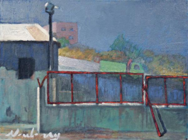 Greek Warehouse in Rhodes by Michael Newberry