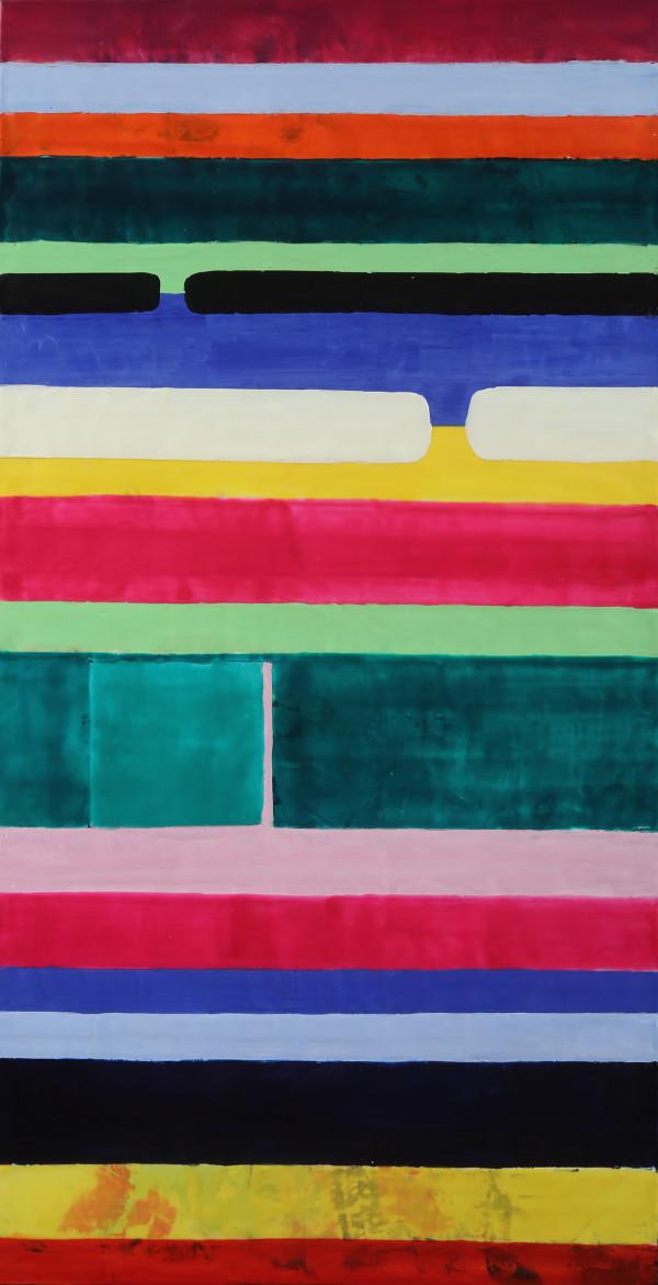 Hibiscus Stripe by Francesca Saveri