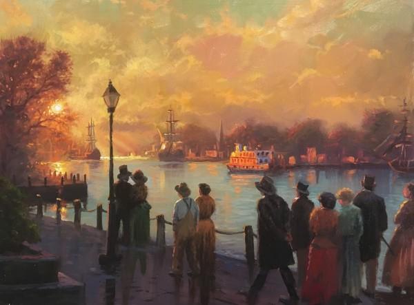 Savannah Sunset by Mark Keathley