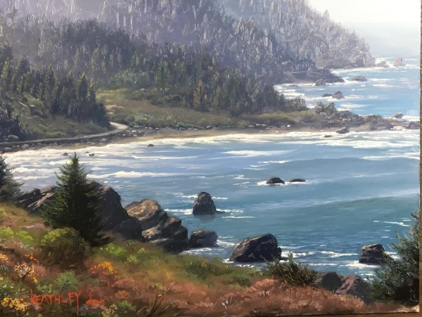 Coastal highway by Mark Keathley