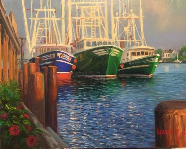 On the docks by Mark Keathley